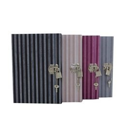 TH166 Diary with stripes print