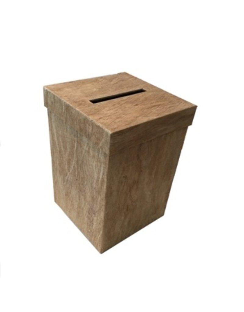 boîte d'ecorce