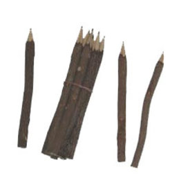 TH221 Set van 10 potloden tamarindehout