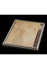 Notebook bark, box and pencil