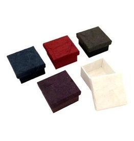 TH281 Set of 4 boxes with bark