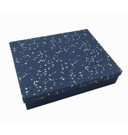 TH329 Erinnerungsbox Maulbeerpapier  Sternen