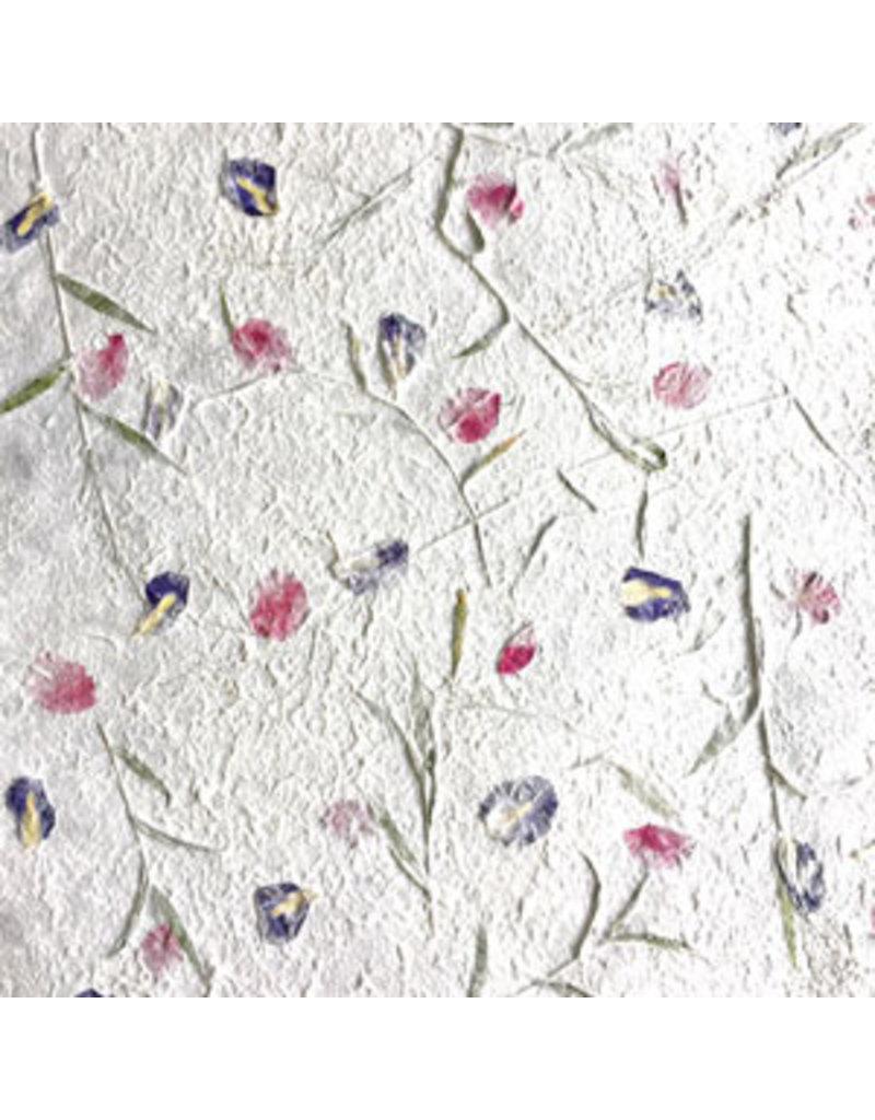 Mulberry papier bloemenmix