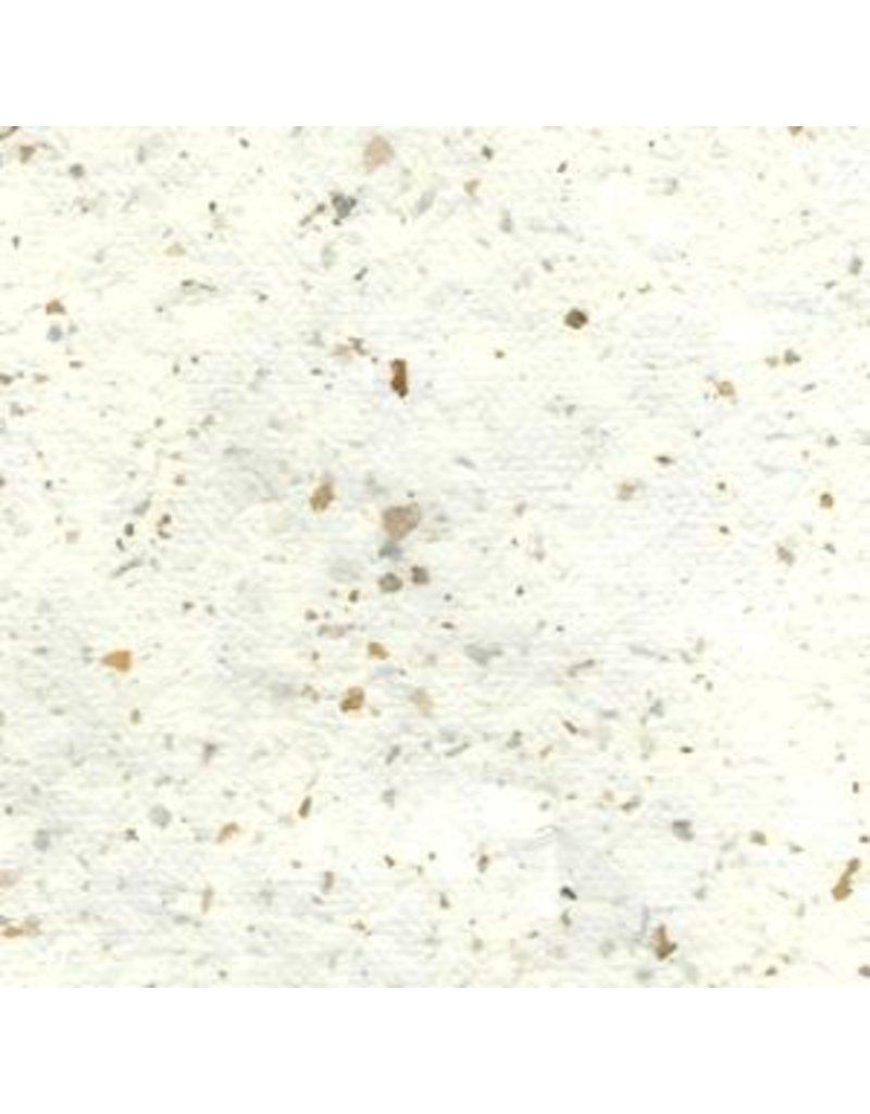 Papier de mûrier avec des petits morceaux de coquille d'œuf