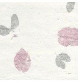 TH853 2 calques de Papier Mulberry avec bougainvilliers