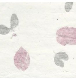 TH853 2 layers of Mulberry paper with bougainvillea