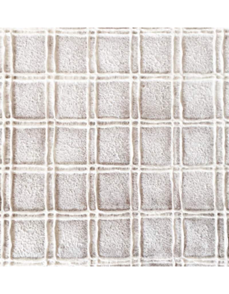Maulbeerpapier mit geprägten Quadraten.
