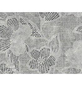 TH885 Papier de mulberry fleurs de dentelle de papier