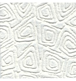 TH908 Mulberry paper with embossed graphic pattern