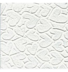 TH911 Mulberry papier hartjes reliëf