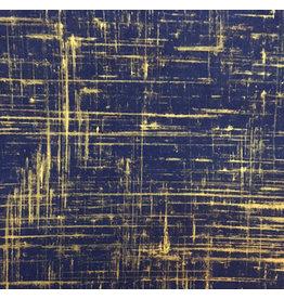 NE849 Lokta papier brushed goud