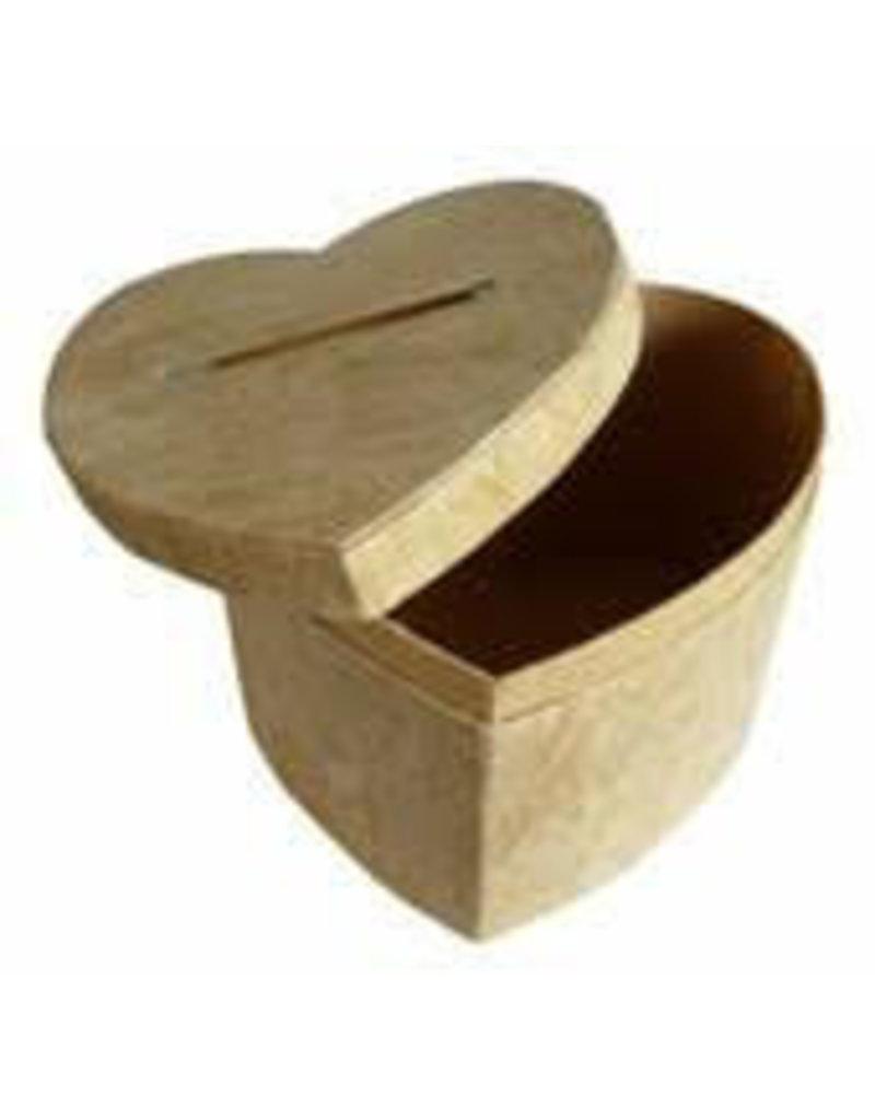 Heart-shaped box of tree bark