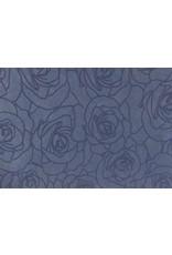 Kondolenz Register Rose-Druck Kontur