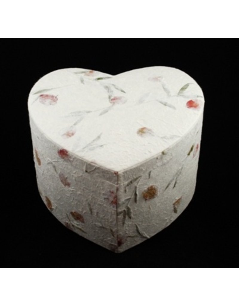Envelope boxes / storage boxes in heart shape, set of 3 together