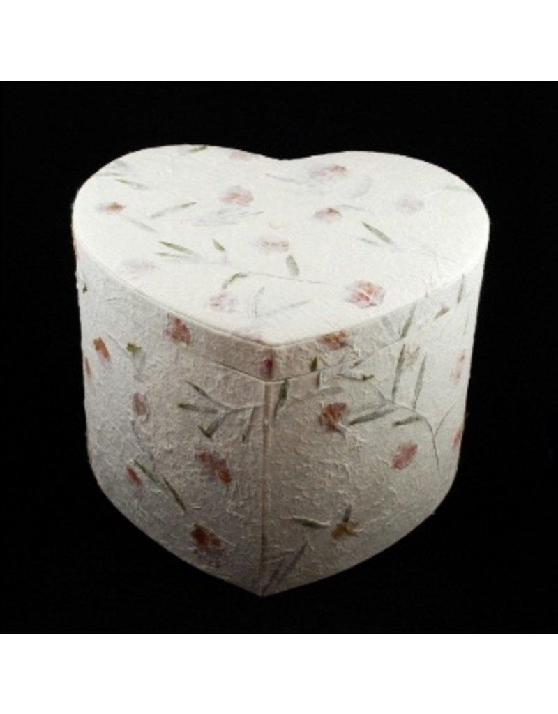 Boîtes-enveloppes / boîtes de rangement en forme de coeur,, 3 pc
