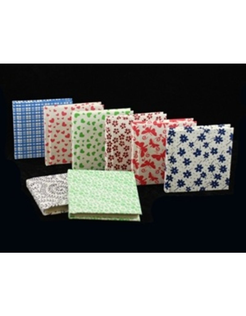 Small notebook mixed designs