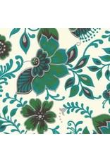 Baumwollpapier Blumenphantasie.