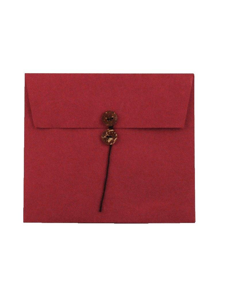 envelop, met knoopsluiting