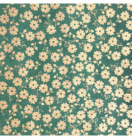 NE853 Papier lokta petit fleurs