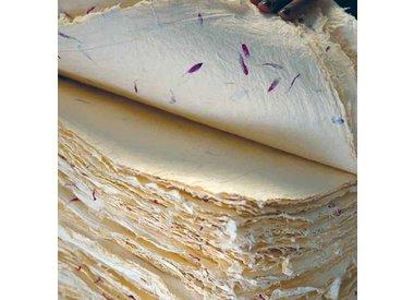 Katoen en hennep papier