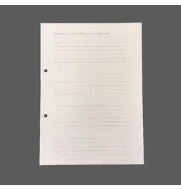 TH025 set of 100 sheets