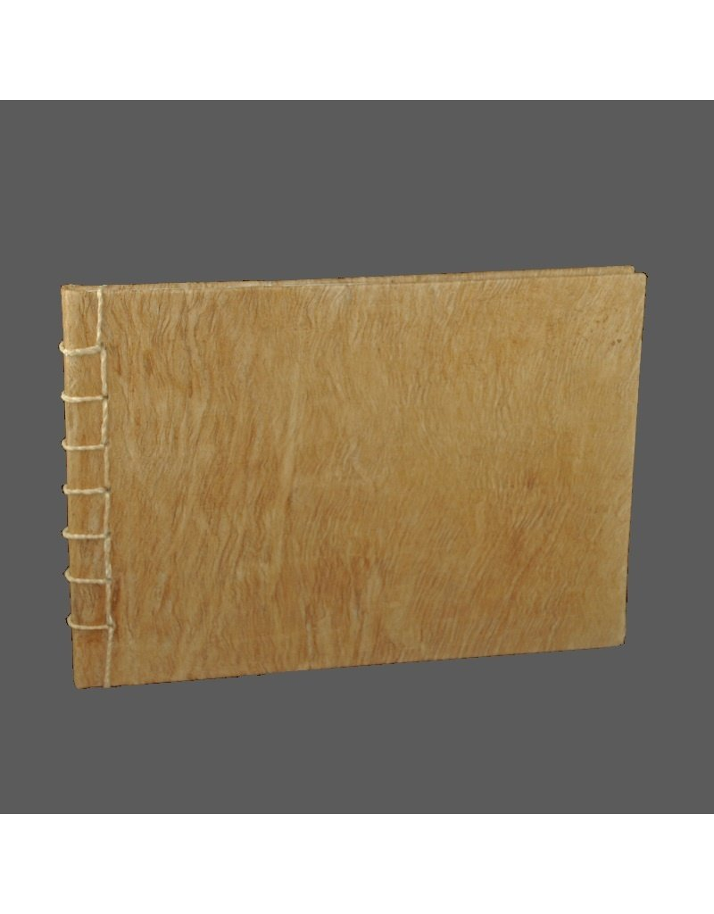 Guestbook bark 25x35 cm