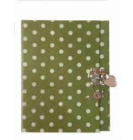 TH190 Dagboek met stippenprint