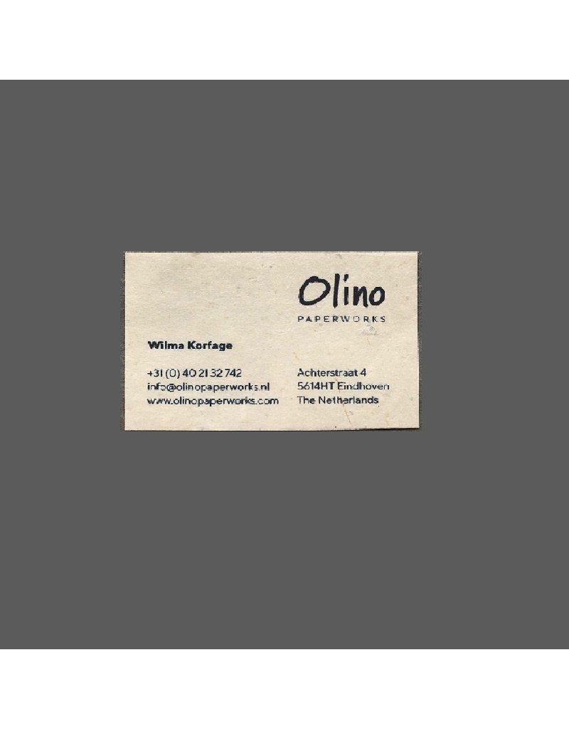 zelfklevende insteekhoes voor visitekaartjes, transparant!