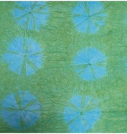 TH753 Papier de mûrier Tie  dye papier