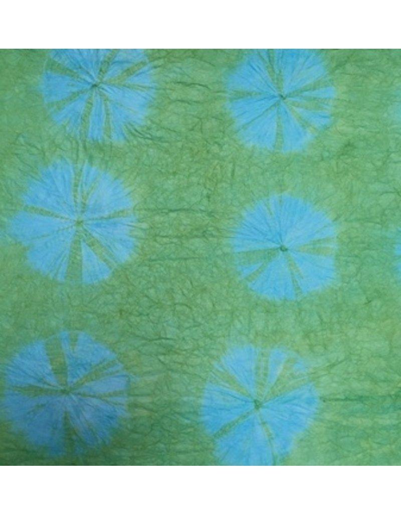 Papier de mûrier  dye papier