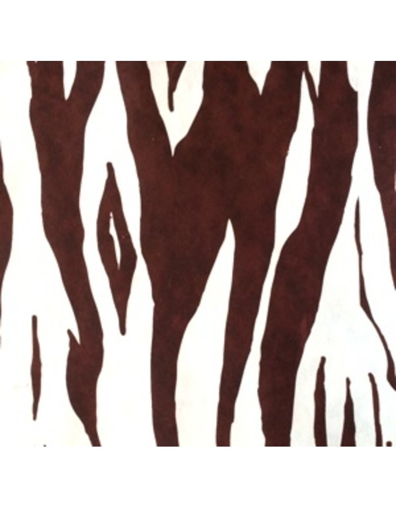 Mulberry paper tiger print