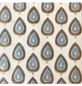 AE133 Cotton, leafprint