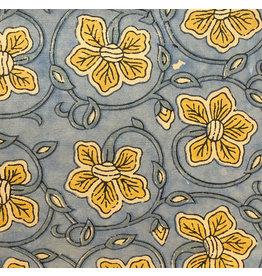 AE136 Baumwollpapier, Blumenaufdruck