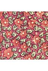 coton, petit motif floral