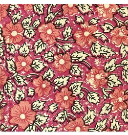 AE134 coton, petit motif floral