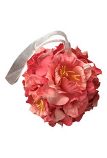 Bloemen-bol van mulberrypapier