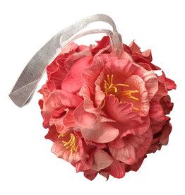 TH012 Ampoule de fleurs de  papier de murier