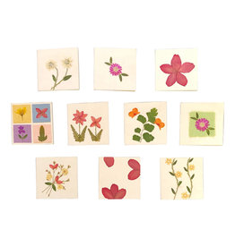 PN245 Set of 10 (double) handmade gift cards