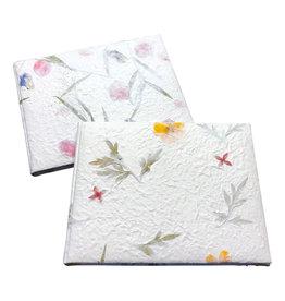 TH775 Gastenboek mulberrypapier/bloem