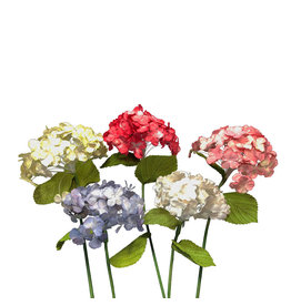 TH768 Hydrangea flower made of mulberrypaper