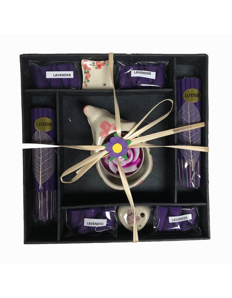 Gift box incense and candles