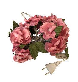 TH014 Pendule lumineux de fleurs en papier