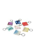 Set 50 keyrings mini-notebook