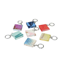 TH993 Set 50 keyrings mini-notebook