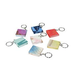 TH993 Set 50 sleutelhangers mini-boekje