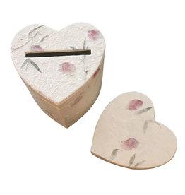 TH698 Boîte de rangement en forme de cœur
