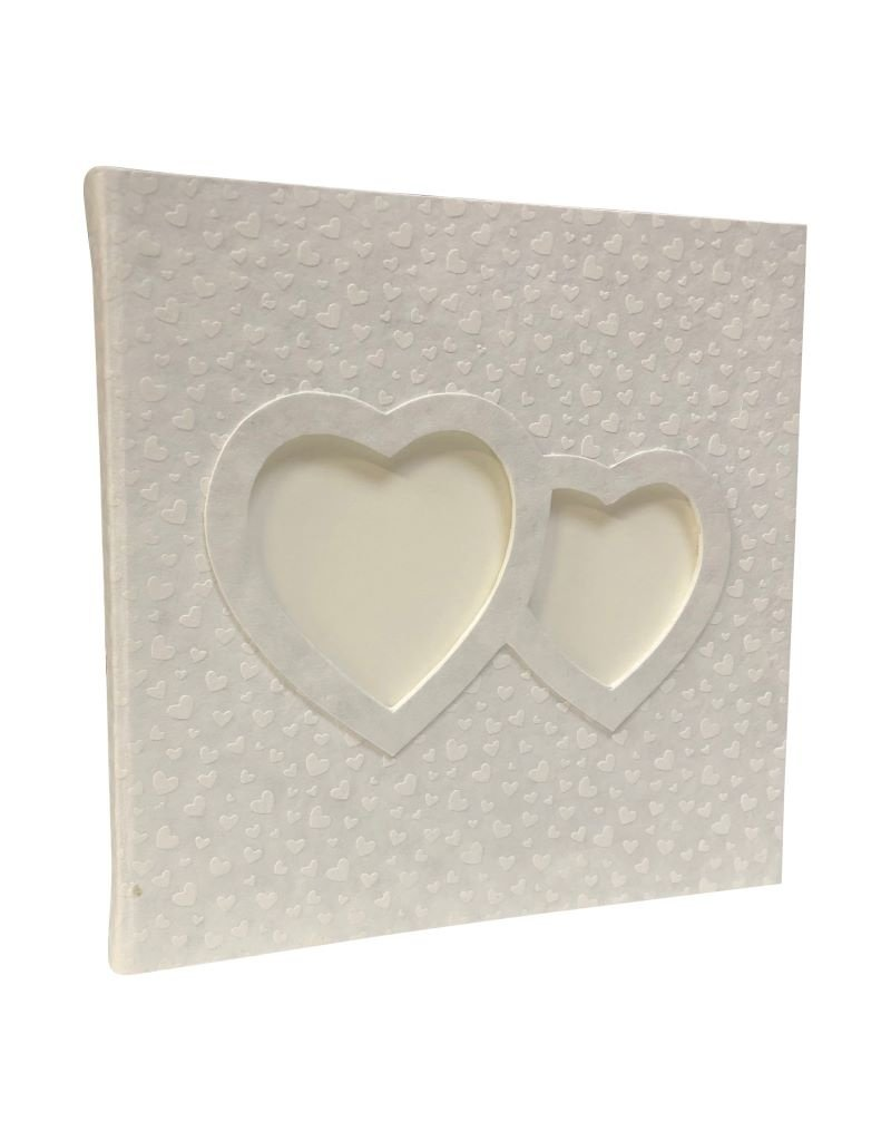 Gastenboek, fotoframe hartvorm
