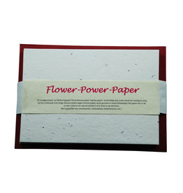 A5019 set A5 flower power paper/env