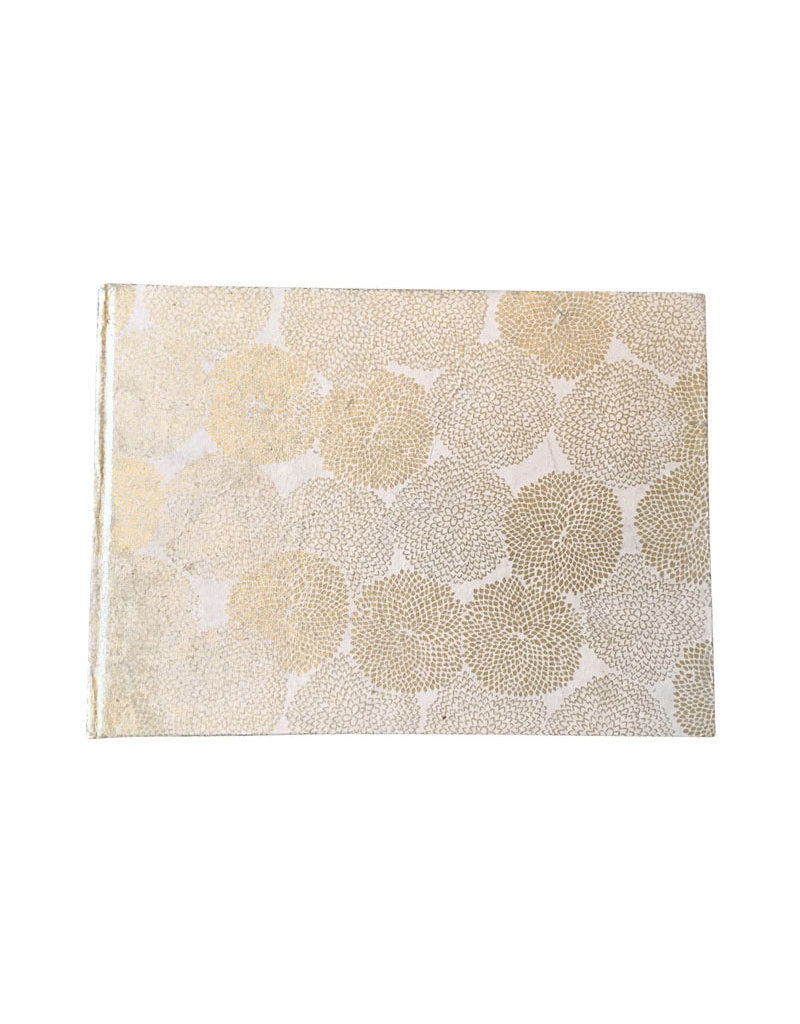 Guestbook gold print