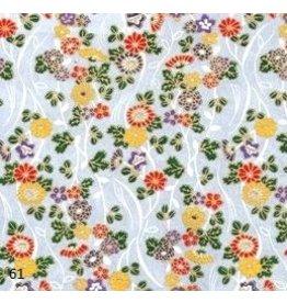 JP110 Papier japonais avec fleurs,